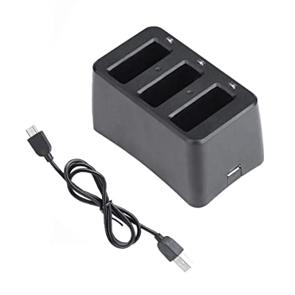 RYZE Part 9 Charging Hub 3 in 1 Parallel for DJI Tello Flight Battery