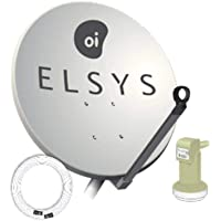 Kit Receptor E Antena 60cm Oi Tv Livre Hd 2 Kit completo - Elsys