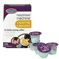 Urnex Nespresso Machine Cleaner - 5 Pods - Coffee Maker Cleaner Pods limpia la boquilla de salida de la cámara de preparación y la boquilla
