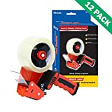 Packing Tape Dispenser, Commercial Bazic Office 2-inch Box Tape Dispenser