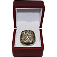 $129 » Tony Stewart (Stewart-Haas Racing) 2011 NASCAR Sprint Cup Champion (#14 Office Depot Team) Rare Collectible Replica Gold Championship Ring…