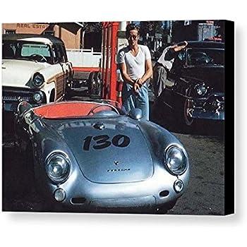 Rare framed last photo taken of james dean for Dean motor cars houston tx