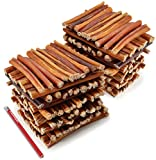 ValueBull All Natural 6 Inch Thin Bully Stick Dog Treats, 200 Count