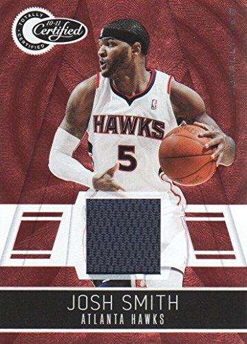 2010-11 Totally Certified Red Jersey #40 Josh Smith 184/249 Atlanta ()