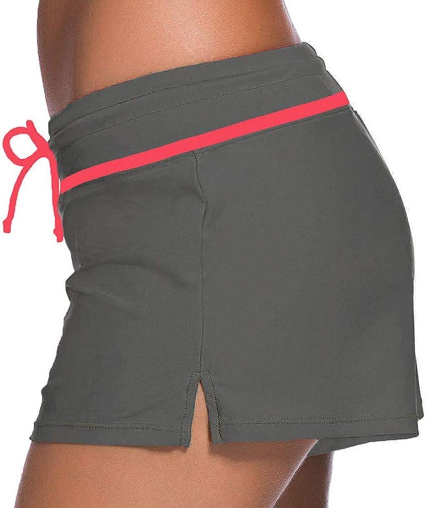 Women Swimsuit Beach Suits YunZyun Women Swimsuit Shorts Tankini Swim Briefs Plus Size Bottom Boardshort Swim Short