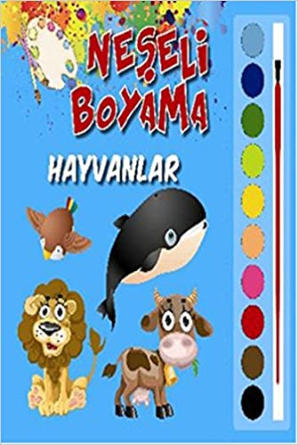Neseli Boyama Hayvanlar Kolektif 9786051005935 Amazon Com Books