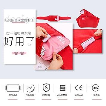 LIUSHUWasser gratis bolsa de agua caliente cinturón eléctrico de plástico a prueba de explosiones de agua caliente de felpa bolsa de mano Bao,.