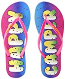 Showaflops Girl's Antimicrobial Shower & Water Sandals - Happy Camper
