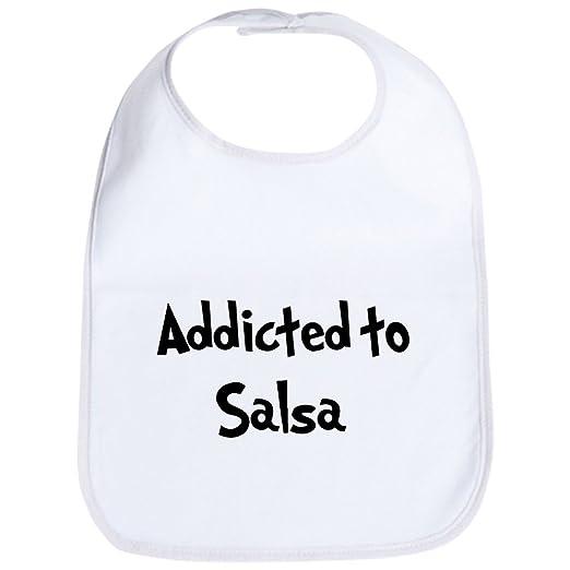 ee105e744 Amazon.com: CafePress - Addicted to Salsa Bib - Cute Cloth Baby Bib,  Toddler Bib: Clothing