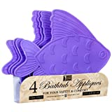 Wholesale BATHTUB APPLIQUES PVC 4CT ASST #95