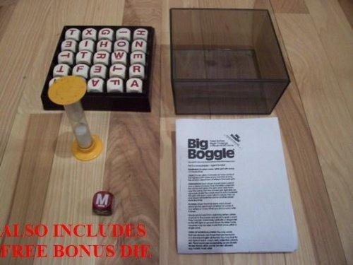 Big Boggle Board Game With Bonus Die Parker Brothers