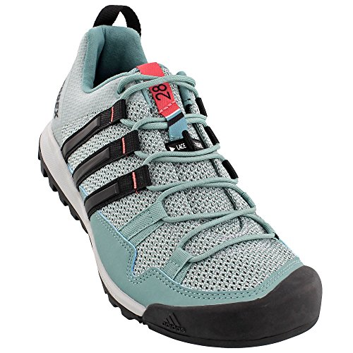Scarpa Da Trekking Adidas Da Donna Per Escursionismo Outdoor Acciaio Nero, Nero, Rosa Tattile