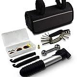 LEEMOON Mini Bike Repair Tool kit with Pump - Mini Bicycle Repair Tool