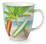 Palm Trees and Surfboards 16 Ounce Coffee or Tea Mug