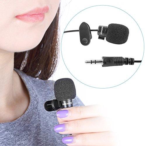Neewerx9886;x53E3;x9EA6;x514B;x98CE; 3.5mm Hands Free Computer Clip on Mini Lapel Microphone (3X Lapel Microphone) - Image 1