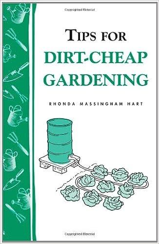 Libros en línea para leer y descargar gratis Tips for Dirt Cheap Gardening (Storey Publishing Bulletin, a-158) 088266574X in Spanish iBook