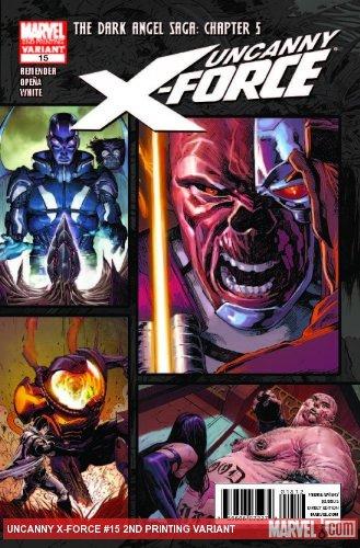 "Uncanny X-force #15 ""2nd Print Variant- The Dark Angel Saga: Part 5"" pdf"