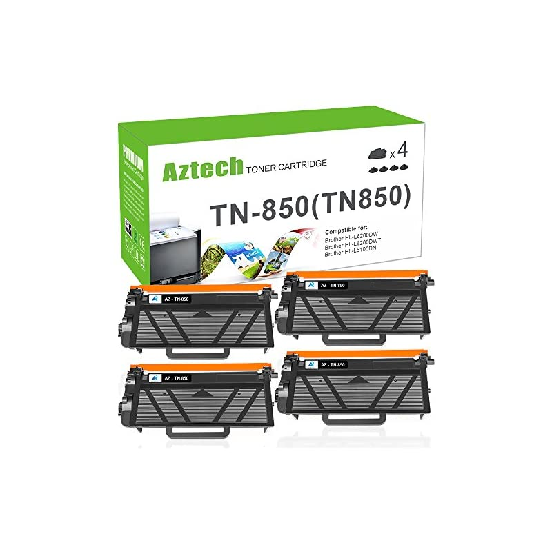 AZTECH 4PK 8000 High Yield Black Compati