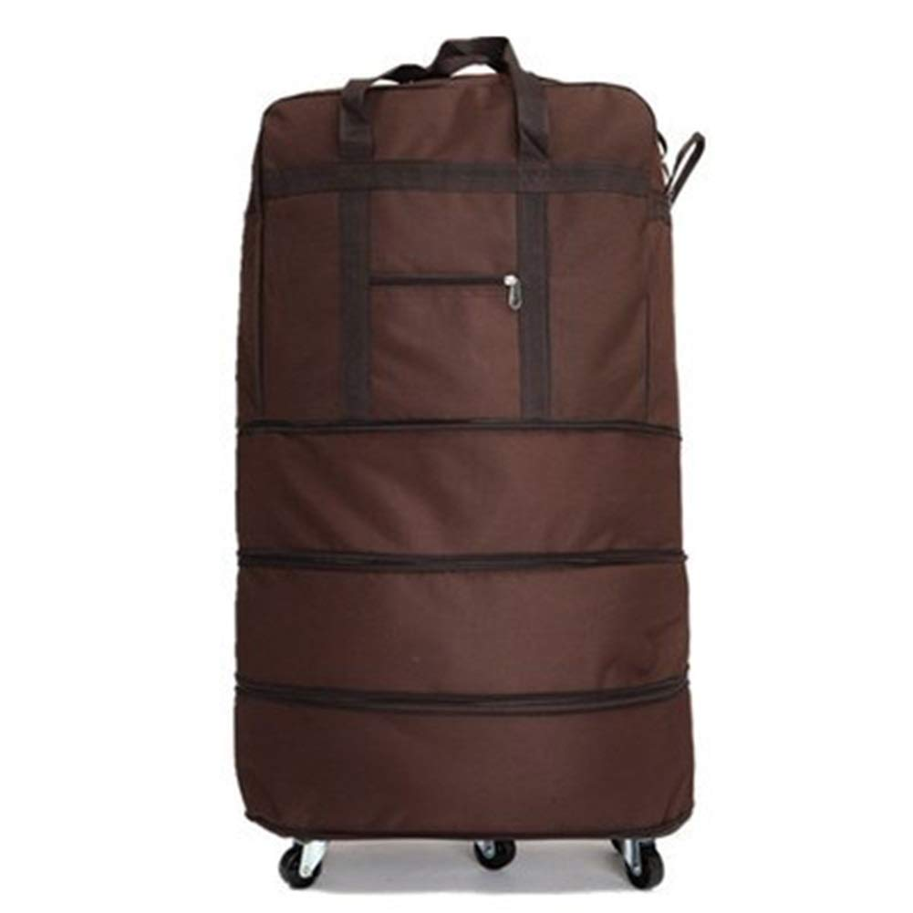 Travel Bags Large Capacity 32 inch Consignment Aviation Trolley Case Luggage Suitcases Carry On Hand Luggage Durable Hold Tingting Color : Brown, Size : 32