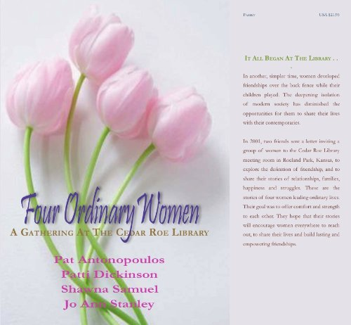 Four Ordinary Women: A Meeting at the Cedar Roe Library
