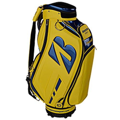 Bridgestone Tour Staff Bag Yellow/Navy