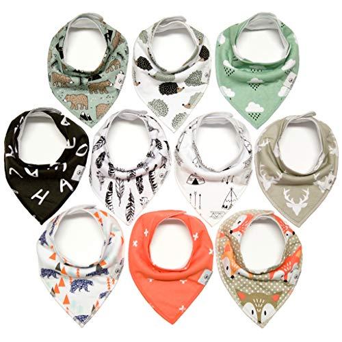 Munchkins Handkerchief Bibdanas Absorbent Adjustable product image