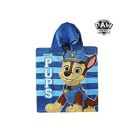 Artesanía Cerdá 2200002183 Poncho Toalla Playa de algodón 50 x 115 cm, diseño Paw Patrol La Patrulla Canina: Amazon.es: Hogar