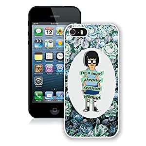 Unique Bob's Burgers 10 White Phone Case for iPhone 5 5s 5th Generation