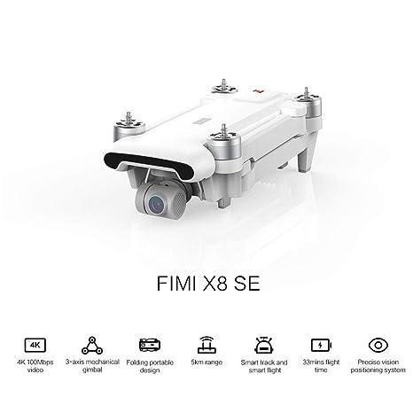Leslaur FIMI X8 SE - Dron teledirigido con GPS, cámara 4K, Gimbal ...