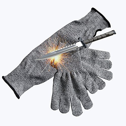 防刃手袋 防刃 アームカバー (3セット) YOLIFE 防刃グローブ L Y8818-48