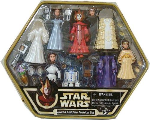 Star Wars Disney Star Tours Queen Amidala Fashion Set (Star Wars Queen Amidala Costume)