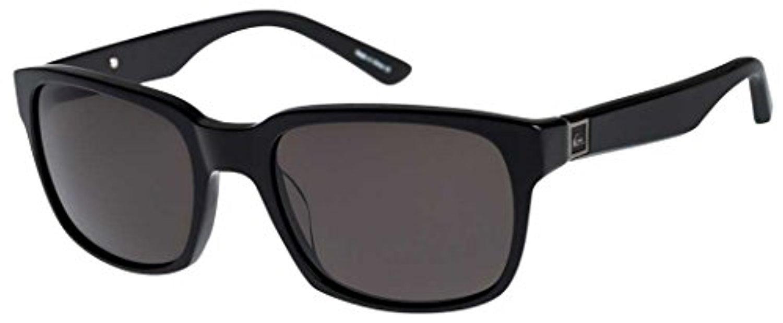 Quiksilver Carpark Sunglasses Sblk/Gry 1SZ & Travel Sunscreen Spray Bundle