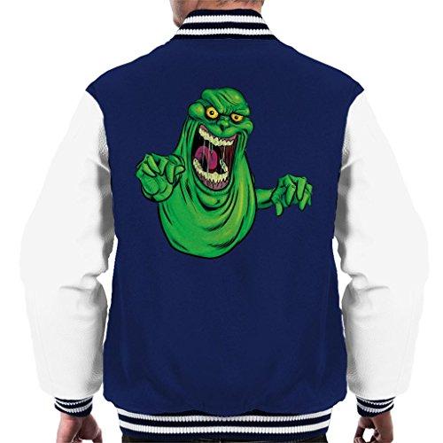 Cloud Ghostbusters 7 Varsity Slimer Jacket Men's City rwvqAEr