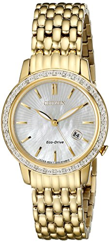 Citizen Eco-Drive Women's EW2282-52D Diamond Watch