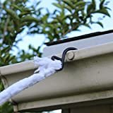 JOYIN 23X18 ft Triangular Mega Spider Web Outdoor