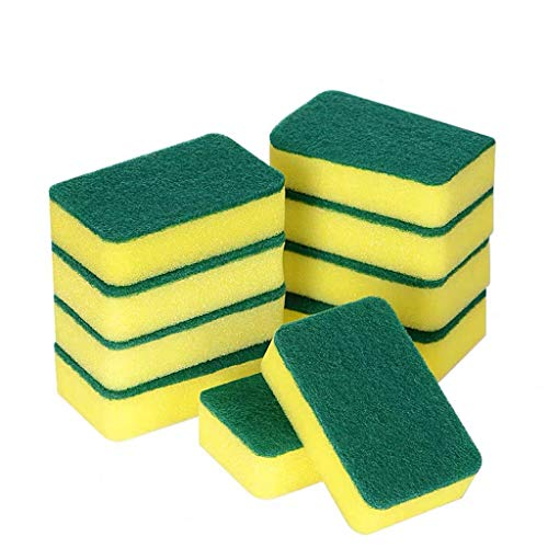 ( Orcbee  _14PCS Kitchen Cleaning Sponges Eco Non-Scratch for Dish Scrub Sponges)