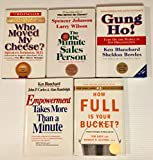img - for 5 Books! 1) Who Moved My Cheese 2) One Minute Sales Manager 3) Gung Ho! 4) Empowerment Takes More Than a Minute 5) How Full Is Your Bucket? book / textbook / text book