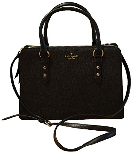 Kate Spade New York Lise Mulberry Street Shoulderbag Handbag (Black) by Kate Spade New York
