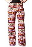 Women's Sexy Purple and Gold Wide Leg Pants Leggings - Wide-Leg Pants - Clothing
