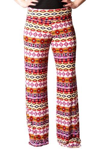 Women's Sexy Purple and Gold Wide Leg Pants Leggings - Wide-Leg Pants - Clothing by U-Kiss