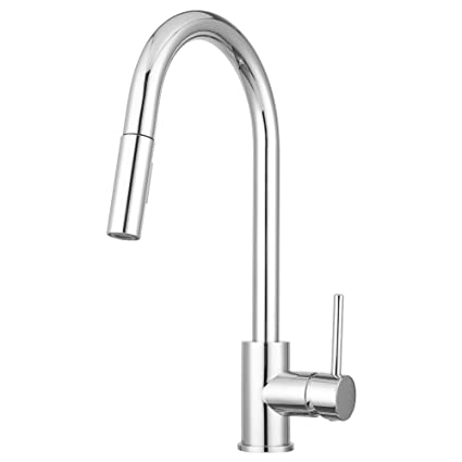 Bellevue Kitchen Faucet by Pacific Bay (Chrome) - Features an In ...