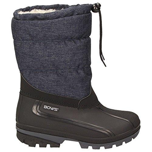 Winter Schlupfstiefel Mädchen Liv Snow Schnee Warmfutter Damen BOWS Stiefel Wasserdicht Jungen Schuhe Boots xqIwv16Ev