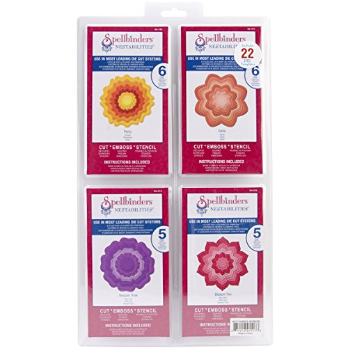Spellbinders Nestabilities - Nesties Flowers B Nestabilities Set by Spellbinders