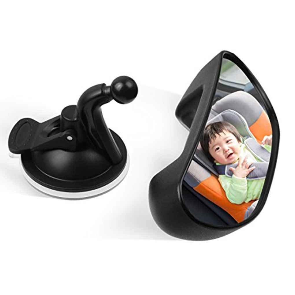 Morza Asiento Universal Espejo retrovisor del Coche de beb/é de Coche de Seguridad Ajustable del Asiento Trasero del Espejo Espejo Infantil reposacabezas Monte