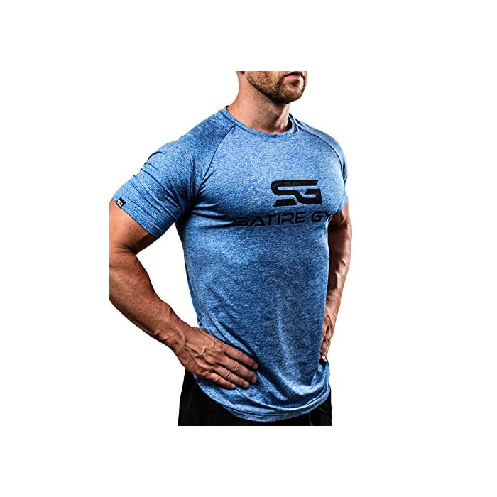 51%2BNQFtjGGL ✔️ acentúa los músculos: esta camiseta de fitness acentúa los músculos pectorales y hace que los hombros se vean más anchos mientras entrenas. ✔️ Movilidad: esta camiseta de entrenamiento para hombre permite una movilidad completa y por lo tanto es adecuada para todos los deportes. ✔️ Ropa funcional – esta camiseta de gimnasio se compone de un material de secado rápido que reduce considerablemente la transpiración (Material: 93% poliéster, 7% elastano)