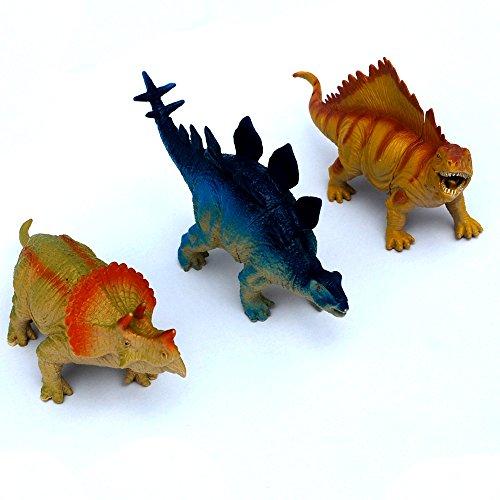 Squishy Dinosaur Toys : 3PCS Jumbo Dinosuars, Rubber Dinosaurs Squishy,Jurassic World Park Dinosaurs, SHINEPA T-Rex ...