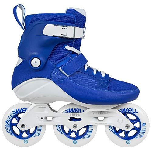 Powerslide Swell Royal Blue 100mm 3 Wheel Inline Fitness Speed Skates