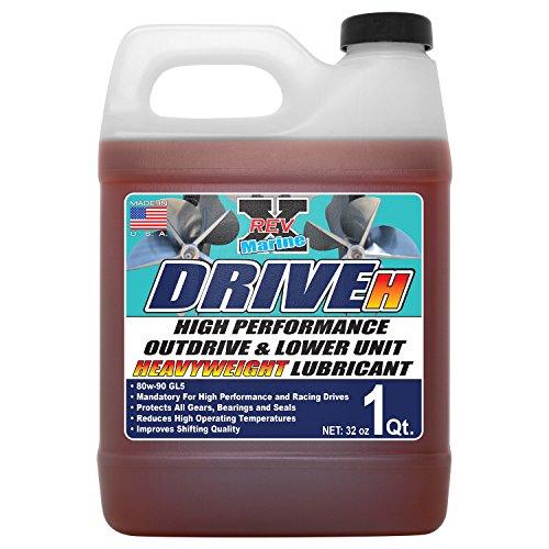 REV-X DRIVE H 80w90 Outdrive Oil & Lubricant - 32 fl. oz. by REV-X (Image #2)