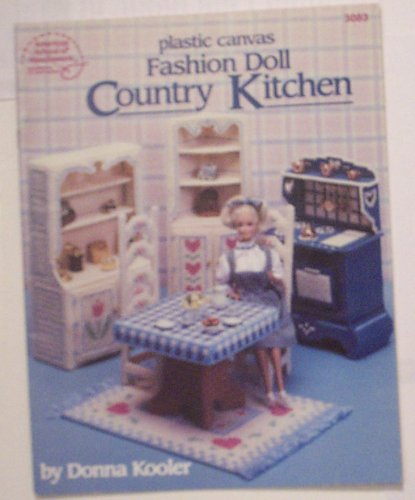 - Fashion Doll Country Kitchen Plastic Canvas Craft Book