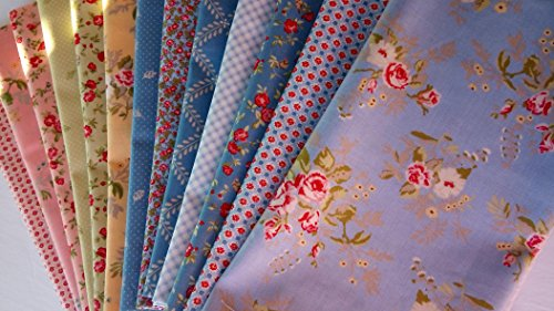 (Moda Fabrics WINDERMERE Brenda Riddle Quilting Cotton Fabric 12 fat quarters ~3 yards total)